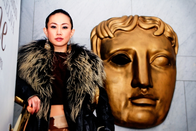 Chinese Star Ayi Jihu at the If Only Film Screening in London