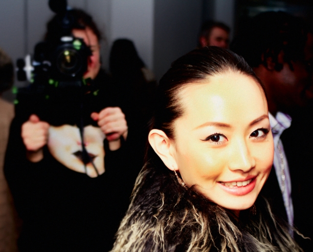 Chinese Star Ayi Jihu at 'If Only' Screening in London