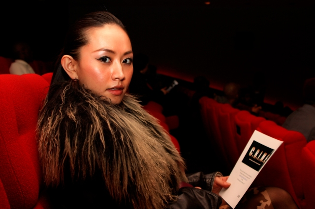 Ayi Jihu prepares to watch 'If Only' film