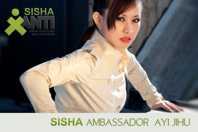 Chinese Star Ayi Jihu Sisha Ambassador