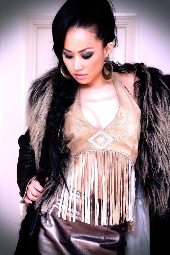 Ayi Jihu Brand Ambassador for Young Native Fashion