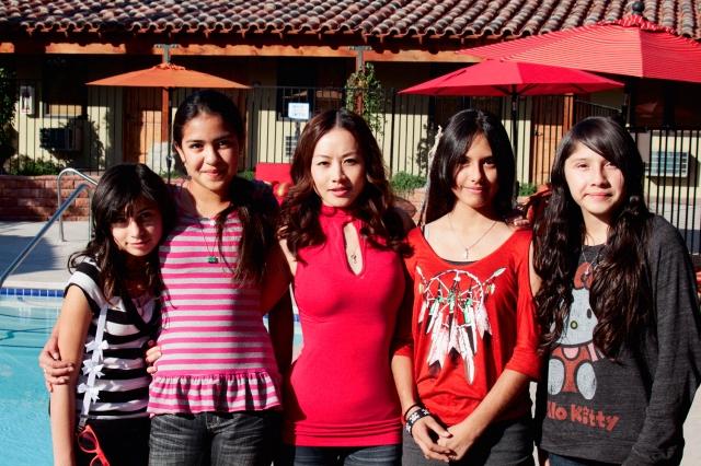 Chinese Star Ayi Jihu embraces the Native American Indian community