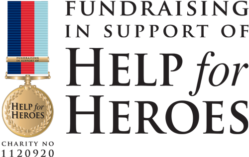 Click here and help raise funds with Ayi for Help for heroes