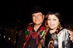Ayi Jihu and Angela DeMontigny at the Native American Music Awards 2013