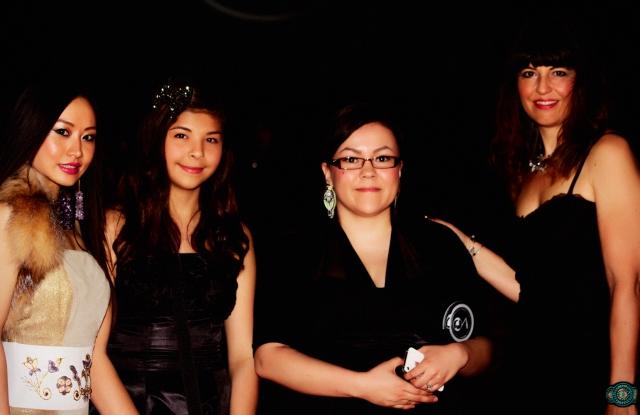 Chinese star Ayi Jihu at the Native American Music Awards