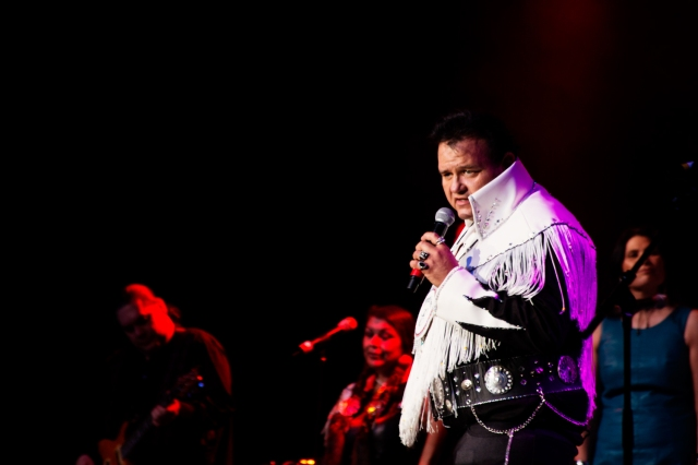 Indian Elvis performs at the Native American Music Awards
