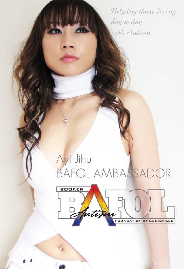 Chinese star Ayi Jihu is Global Ambassador for The Booker Autism Foundation of Louisville (BAFOL