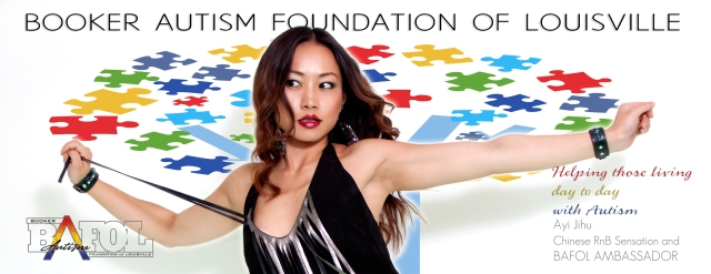 Chinese star Ayi Jihu becomes Global Ambassador for Booker Autism Foundation of Louisville