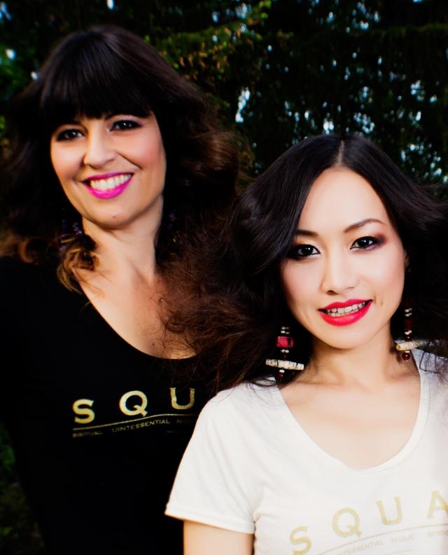 Ayi Jihu global Ambassador for Young Native™ Fashion with it's founder Angela DeMontigny