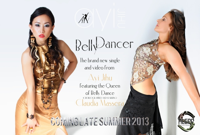 Chinese star Ayi Jihu hoping to empower women in her new belly dancer video