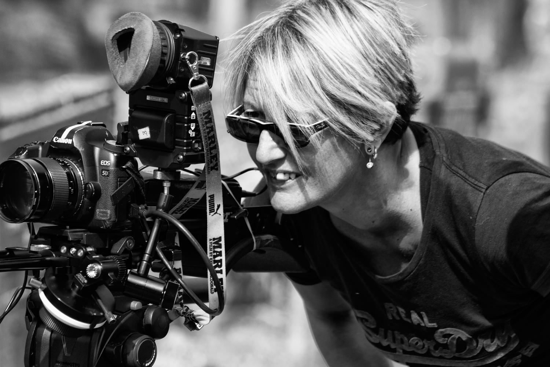 Award winning director Flamina Graziadei on set of her new film 'I believe in Monsters'