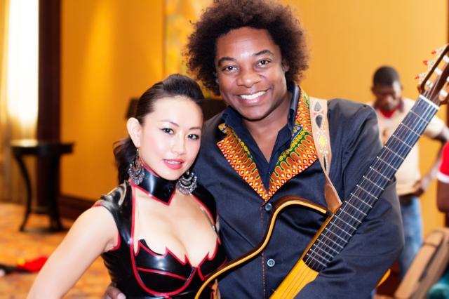 Chinese star Ayi Jihu bridges cultual gaps through music , media, dance and fashion