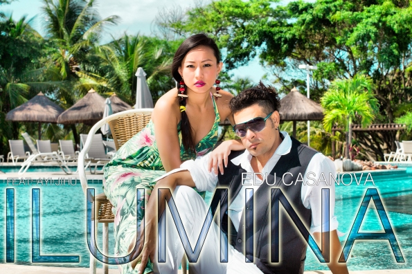 Edu Casanova and Chinese Star Ayi Jihu new single Ilumina