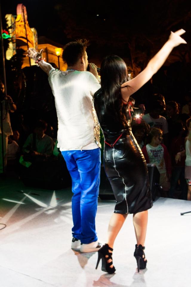 Chinese star Ayi Jihu and Brazilian star Edu Casanova Bring the house down in Macau