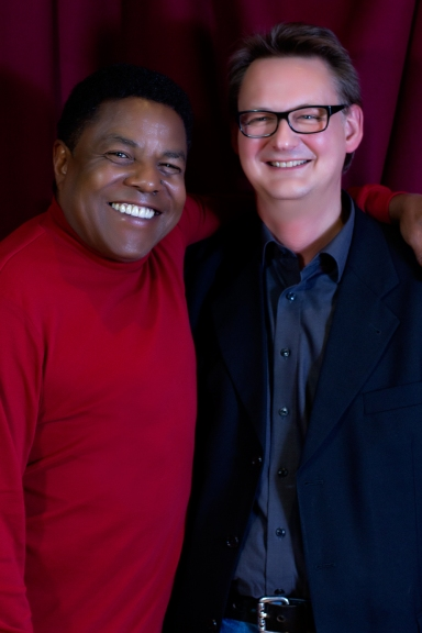 Tito Jackson with Bernhard Storz from Storz Media GMBH