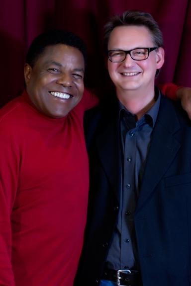 Tito Jackson with Bernhard Storz from Storz Media GMBH