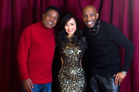 Tito Jackson with Ayi Jihu and Stevie Eagle E from Shlepp Entertainment Ltd