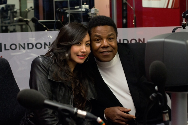 Tito Jackson and Ayi Jihu meet the media in london