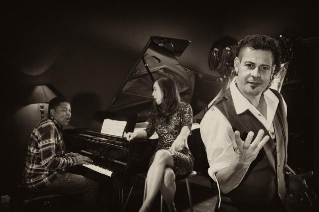 Legend Tito Jackson hooks up with Chinese Madonna Ayi Jihu and Edu Casanova