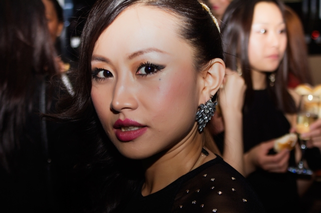 Chinese star Ayi Jihu makes a splash at the premiere of her first film