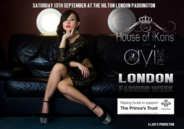 Ayi Jihu set to hit the runway at London Fashion week with House of iKons