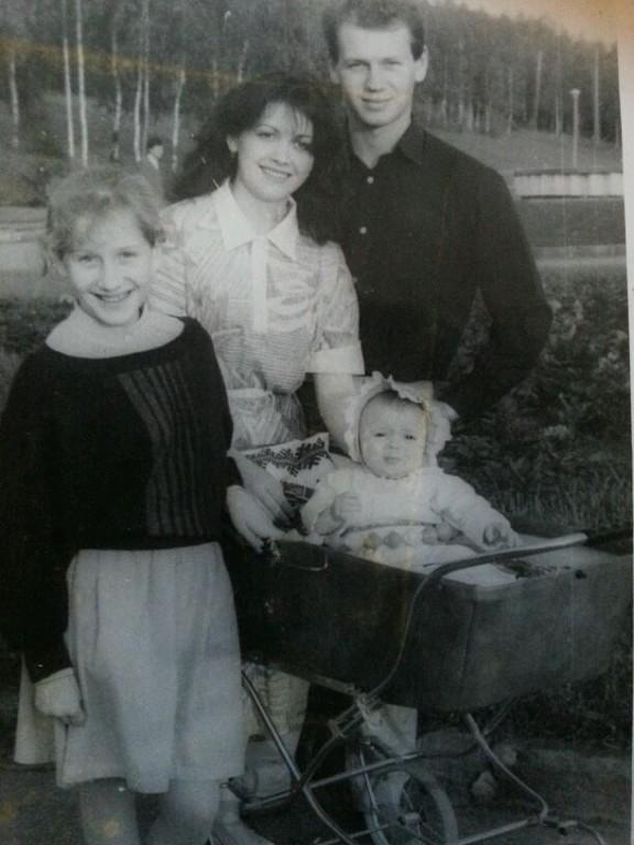Joanna Shegera and family in Ukraine