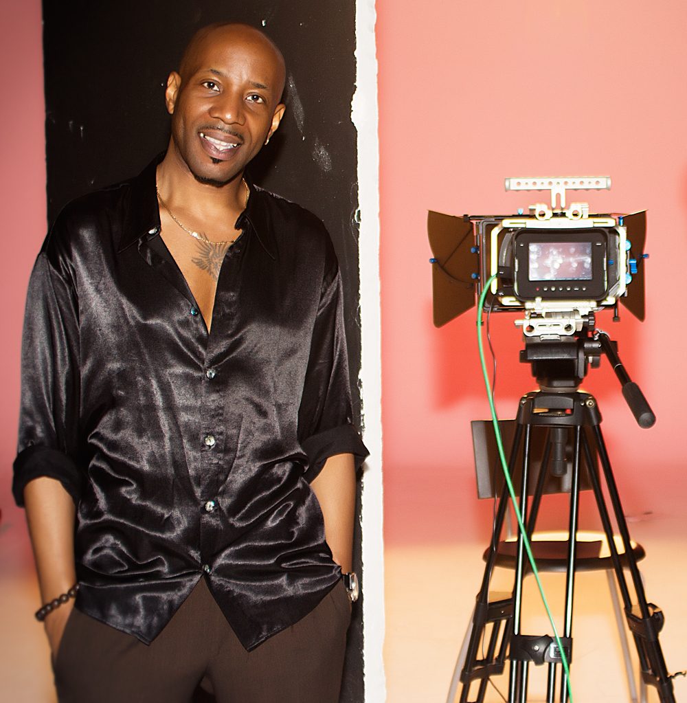 Stevie Eagle E directs one of his music videos in London