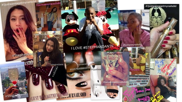 Fans from around the globe show their support for Stephan Dante and her début single Nails Did