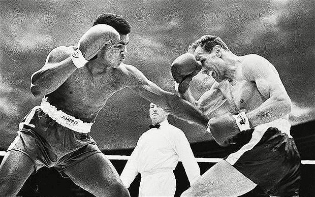 Muhammad Ali beat cooper in the round he predicted