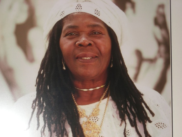 Toyin interviewed the mother of Bob Marley