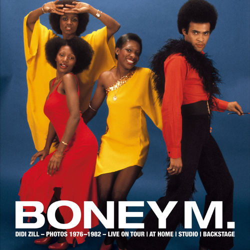 Toyin also sang with Boney M for many years