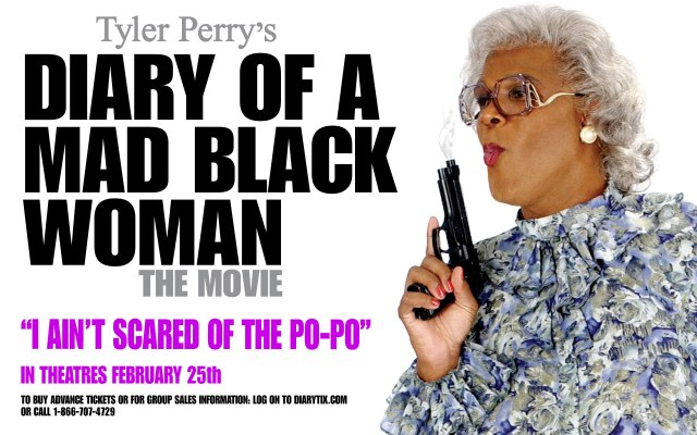 Toyin list Tyler Perry's 'Diary of a mad black woman' in her all time top ten movies
