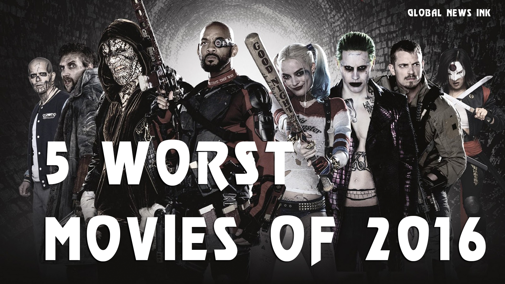 Suicide Squad makes Global News Ink 5 worst movies of 2016 list