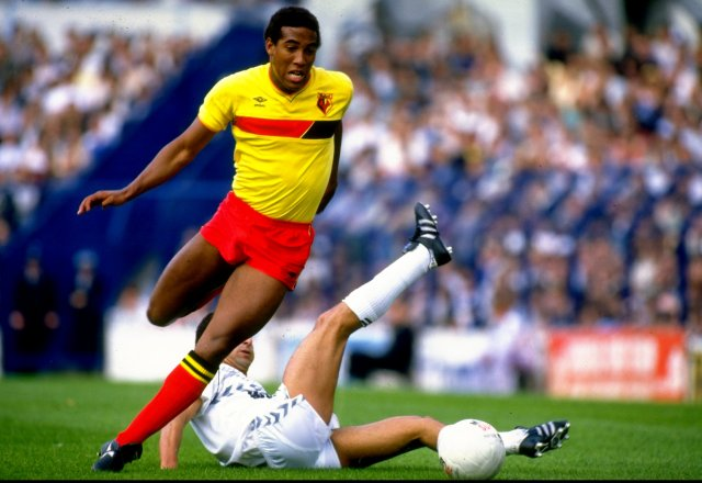 Graham Taylor unleashed the great John Barnes onto the football scene
