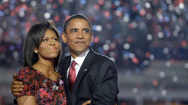 President Barrack and First Lady Michele Obama