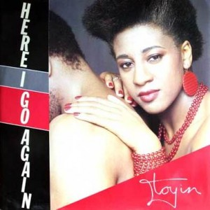 Toyin also hit the mark with 'Here I go again'