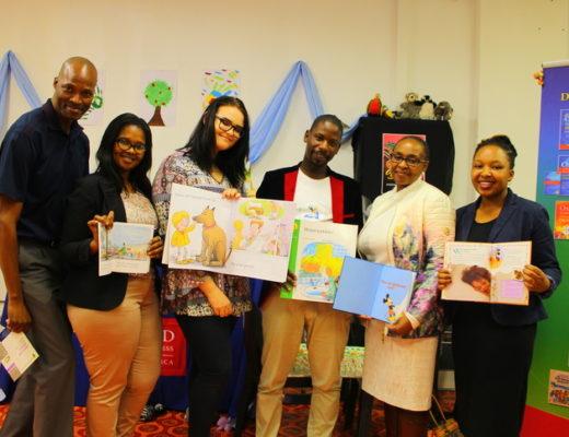 Cllr John Cele, Lindiwe Dube, Claudelle Botha, Phumlani Banda, Thembeka Mchunu and Nokulunga Hlabisa PHOTOS: Wellington Makwakwa