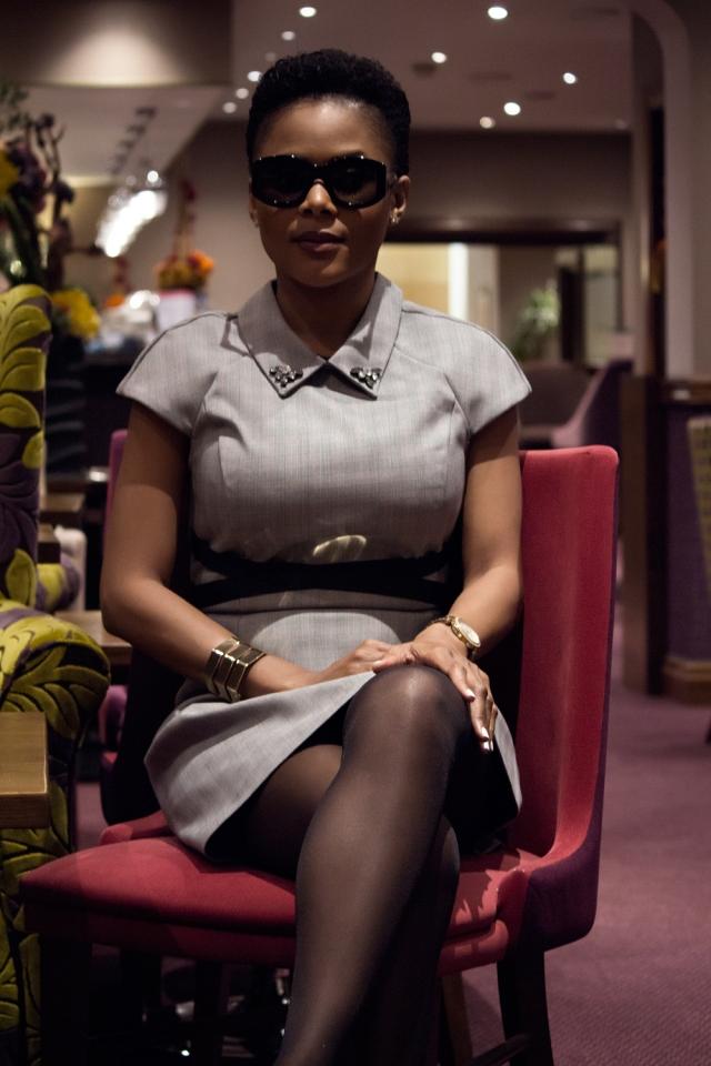 Entrepreneur business woman Soleil NgoNga runs several business