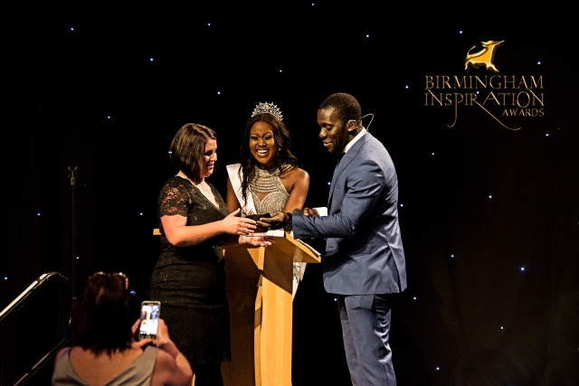 Kelly Elliman scoops gongs Awards at the Birmingham Inspiration Awards