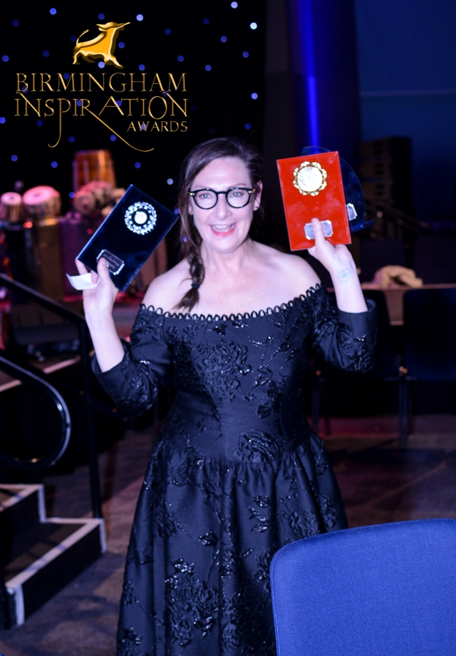 Actress Pauline McLynn picks up 3 of 4 awards won by Greyhound Protections Kelly Elliman