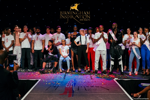 Top UK Model 2017 winners and contestant at the Birmingham Inspiration Awards