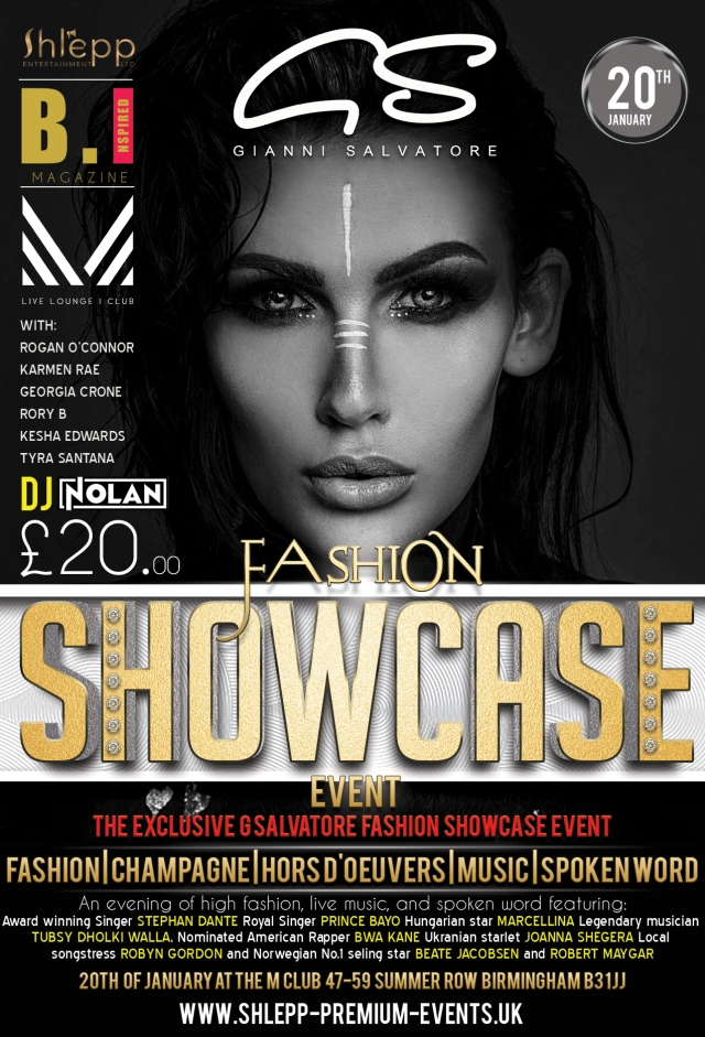 Shlepp Entertainment Present the G Salvatore Fashion Showcase
