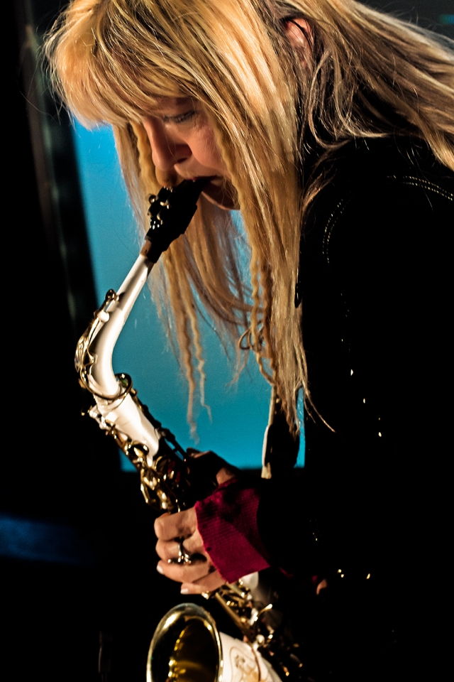Hungarian Star Macellina is a singer and Saxophonist