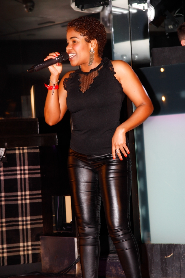 Award-winning singer, songwriter and urban poet Stephan Dante live at the G Salvatore Fashion Showcase event