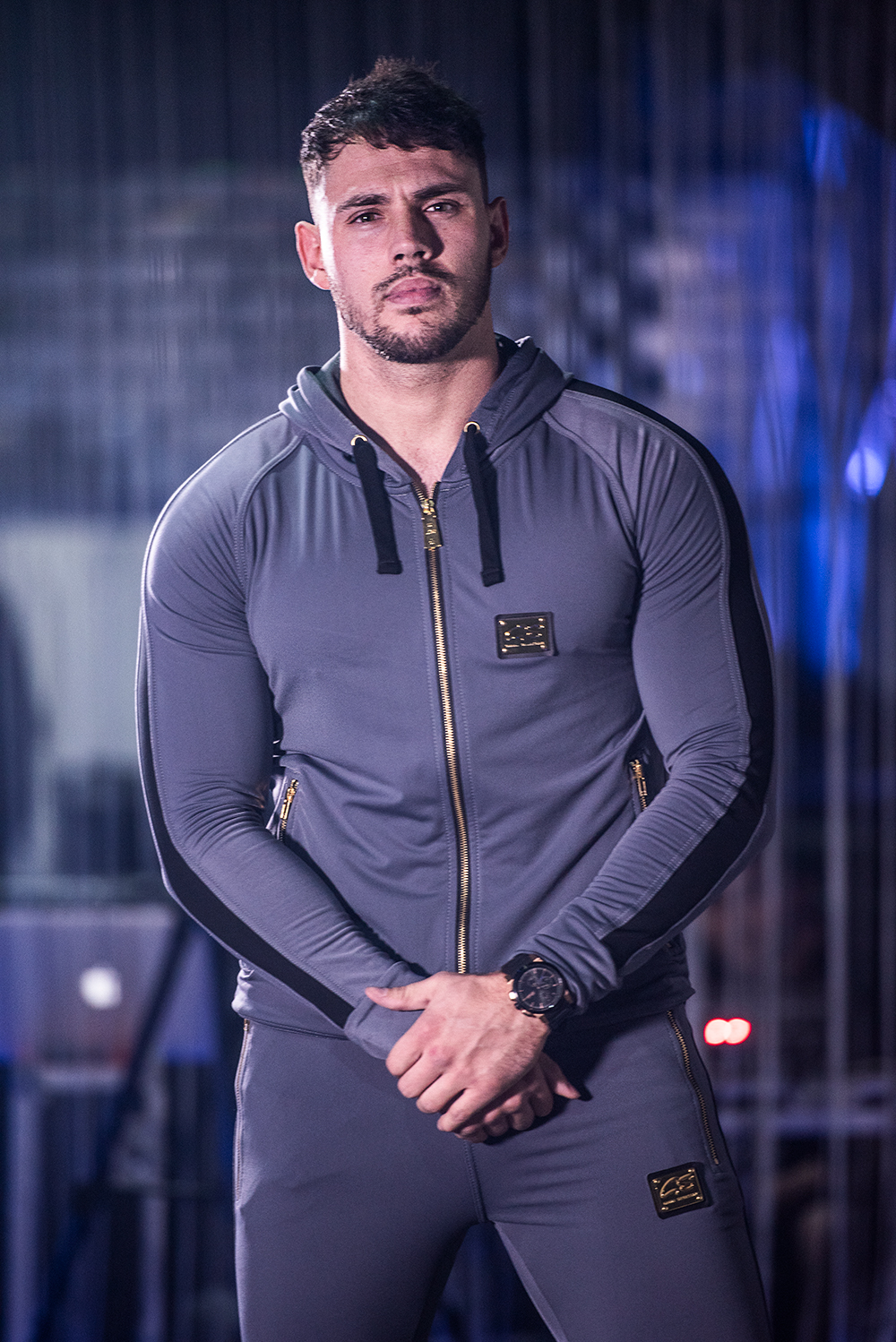 G Salvatore Fashion tracksuits shown at the G Salvatore Fashion Showcase event in Wales